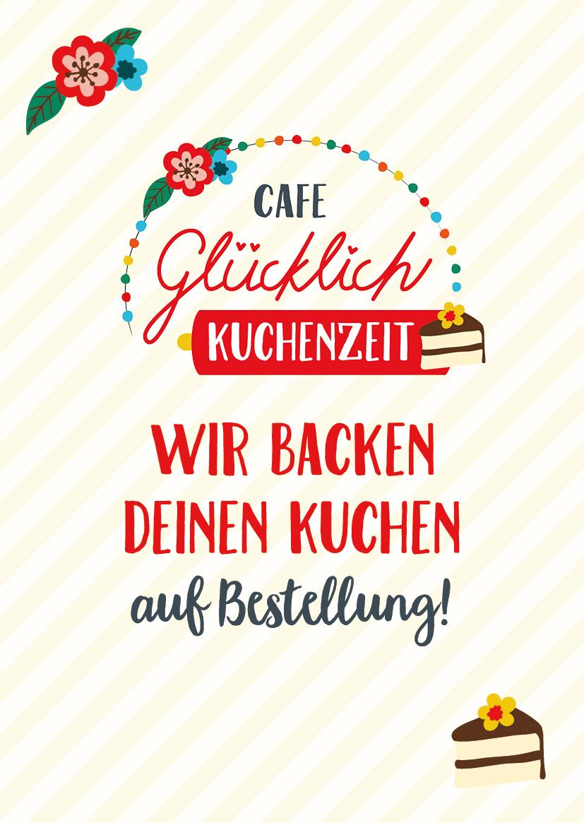 Cafe Glücklich in Frankfurt –Kuchen Bestellen